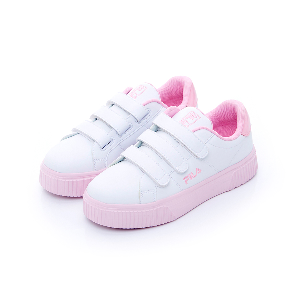 FILA 女性潮流復古鞋-粉色 5-C310T-155