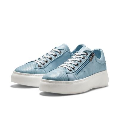 TRAVEL FOX ELOISE 舒適增高休閒鞋-淺藍杜松子