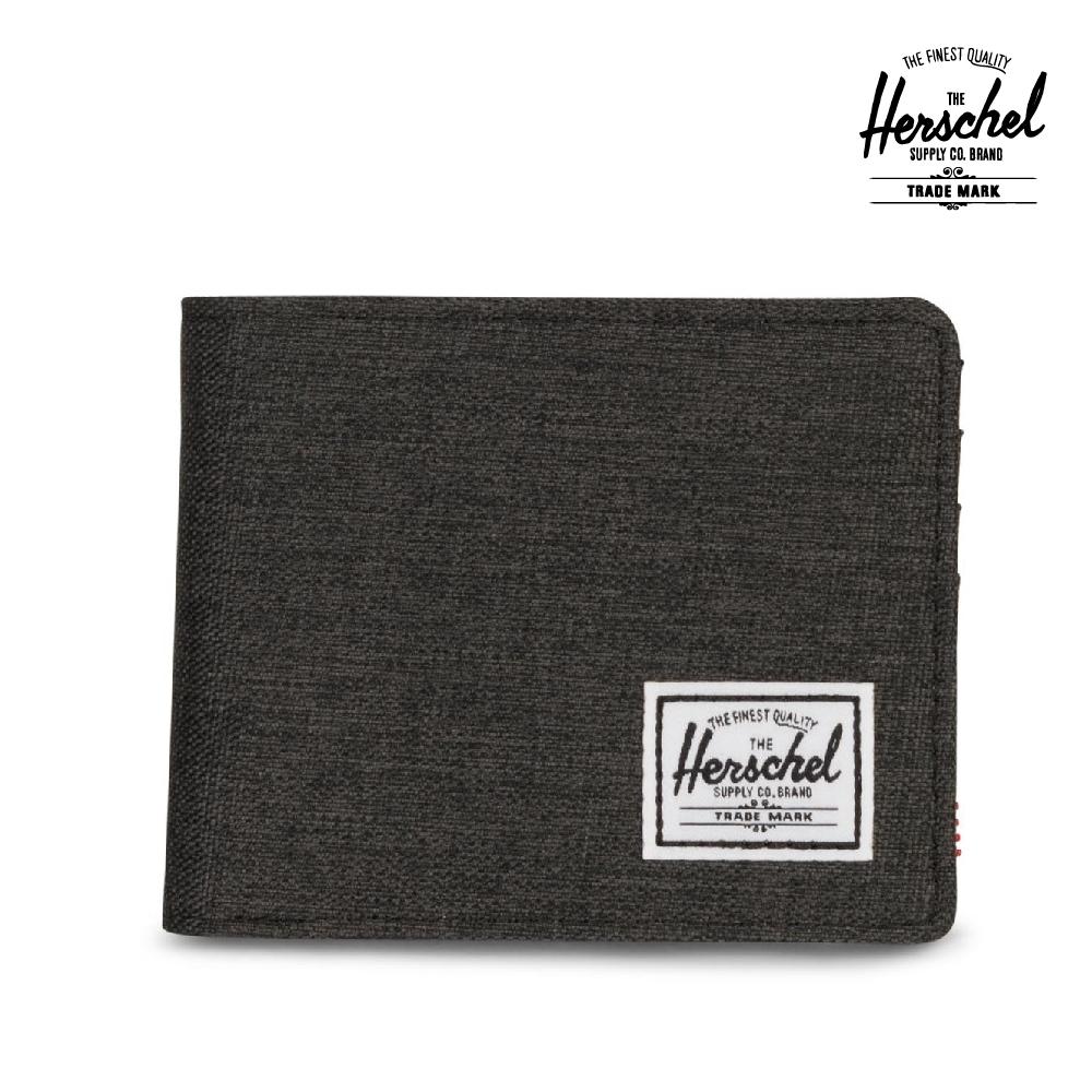 【Herschel】Roy 短夾-深灰色