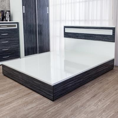 Birdie南亞塑鋼-3.5尺單人塑鋼床組(床頭片+床底)(鐵刀木色)