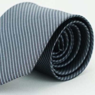 【Alpaca】灰色斜紋領帶