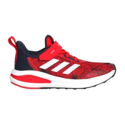 ADIDAS FORTARUN SPIDER-MAN EL K 男中童慢跑鞋 FV4192 紅丈青白