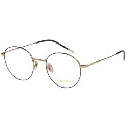 VEDI VERO 復古圓框 β鈦 光學眼鏡 (黑配金)