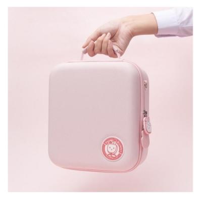 switch 任天堂  收納包 粉色少女風 外出時尚 耐摔防刮 贈貓爪搖桿保護套4個 全收納