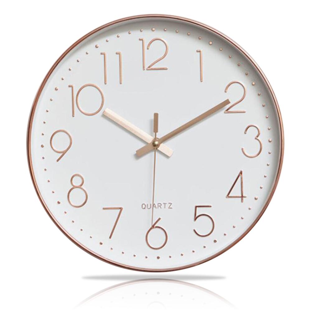 便利社 12吋超靜音北歐時鐘