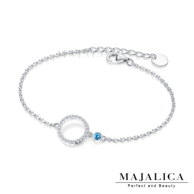 Majalica圓圓滿滿925純銀手鍊女款