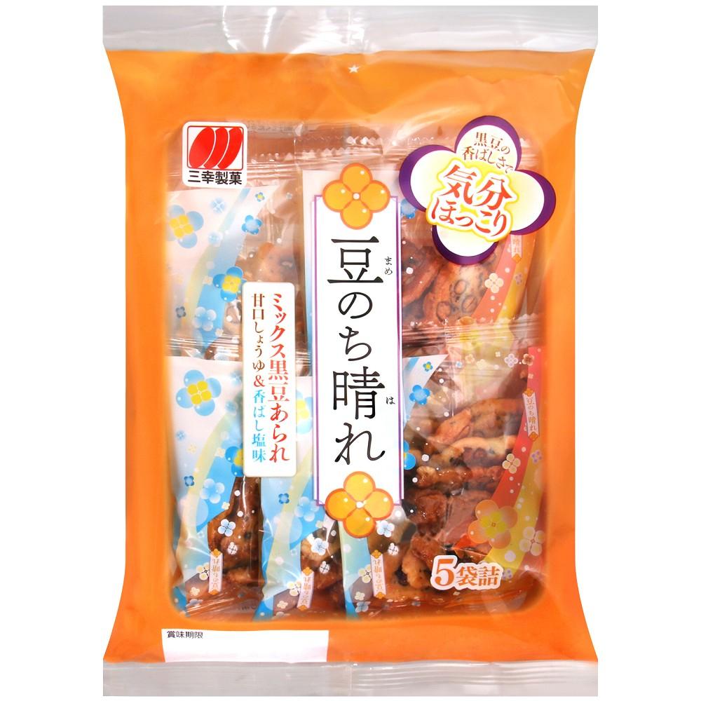 三幸 薄鹽醬油黑豆米果(90g)