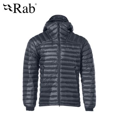 【RAB】Microlight Summit 羽絨連帽外套 男款 鋼鐵藍#QDA88