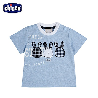 chicco-玩具車-短袖上衣-藍