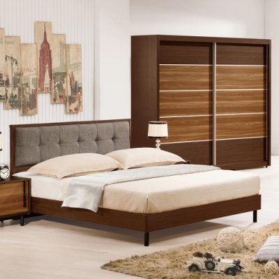 H&D 卡爾頓5尺床片型床台