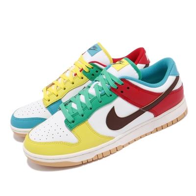 Nike 休閒鞋 Dunk Low SE 復古 男鞋 彩蛋 鴛鴦 潮流 穿搭 球鞋 彩 白 DH0952100