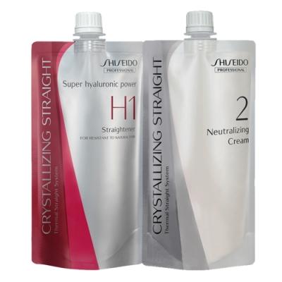 SHISEIDO資生堂 法倈麗公司貨 新水質感II燙髮劑第一劑H+二劑(霜狀)400G*2
