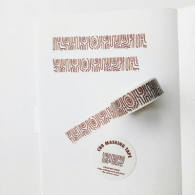 CBB 原創紙膠帶01-木紋