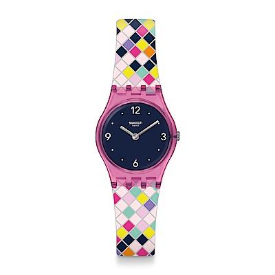 Swatch SQUAROLOR 俄羅斯方塊手錶
