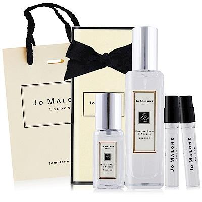 Jo Malone 英國梨與小蒼蘭香水30ml+9ml+1.5mlX2贈品牌提袋