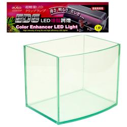 《台製》高透析海灣5mm空缸(一尺)+《水族先生》增艷LED超輕量水族跨燈(一尺)