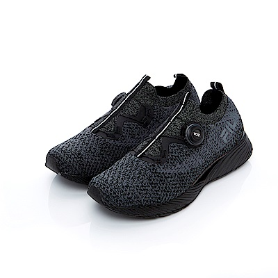 FILA 專業慢跑訓練鞋R1-黑 4-J029T-004