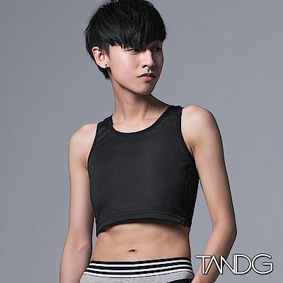 T&G束胸 8sports系列-8網布半身款(黑)