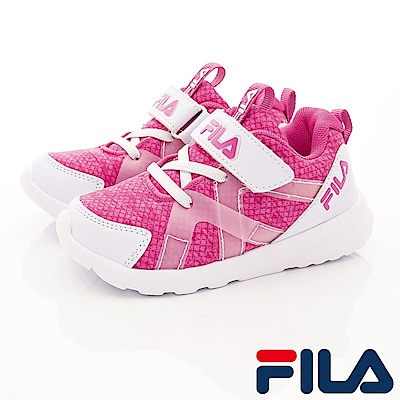 FILA頂級童鞋 輕量簡約運動款 EI25S-199紫(中大童段)