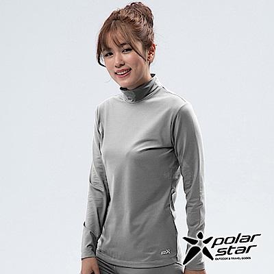 PolarStar 女 遠紅外線高領保暖衣『灰色』 P18250