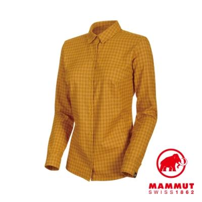 【Mammut】Winter LS長袖機能襯衫 金黃/黃 女款 #1015-00470