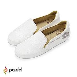 Paidal x 卡娜赫拉的小動物 浪漫蕾絲樂福鞋