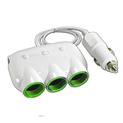 CA-3C2UN 3孔點菸器+2孔USB輸出車用充電器