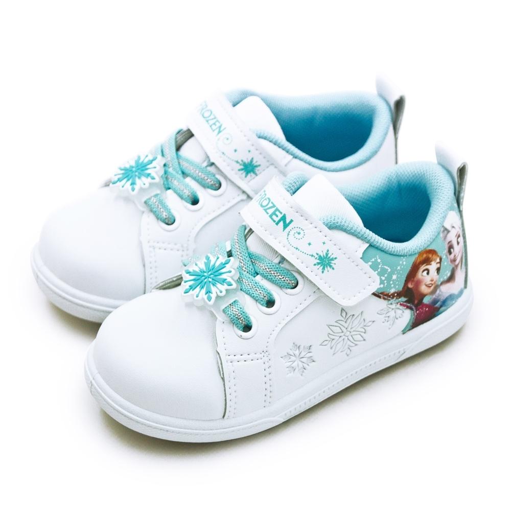 Disney 迪士尼 冰雪奇緣 FROZEN 兒童運動鞋 白粉藍 94206
