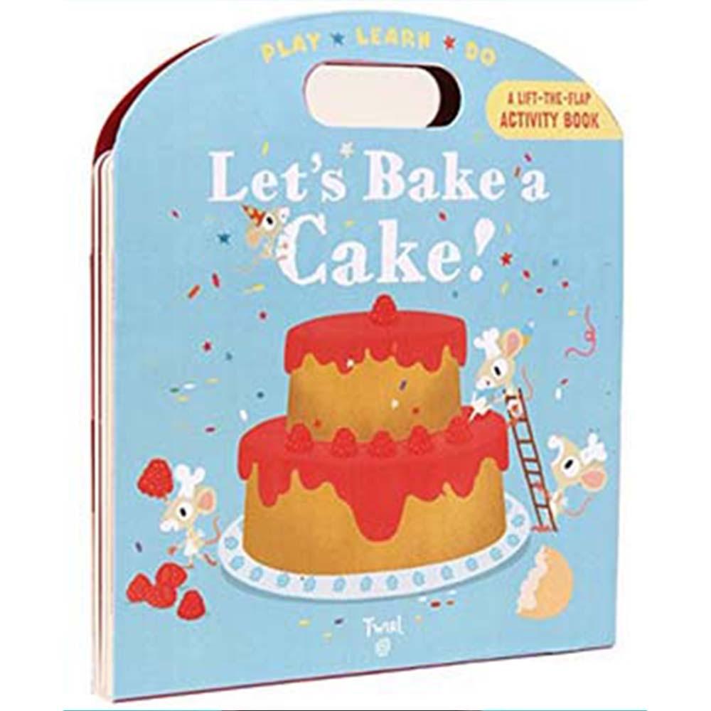 Let's Bake A Cake! 一起做蛋糕吧! 手提操作書