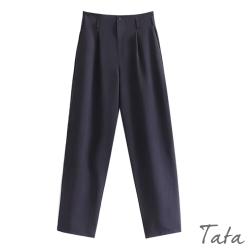 打摺寬鬆側雙口袋哈倫褲 TATA-(M/L)