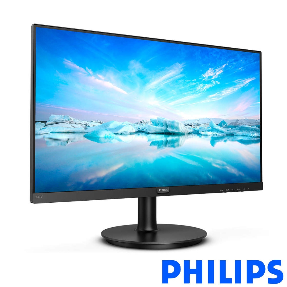 PHILIPS 241V8 24型 IPS窄邊框電腦螢幕 支援HDMI