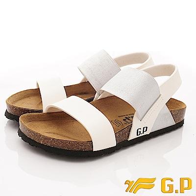 GP時尚涼拖  時尚涼鞋款-SE70-77銀(女段)