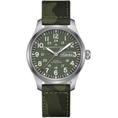 Hamilton 漢米爾頓 KHAKI FIELD 卡其野戰迷彩機械錶