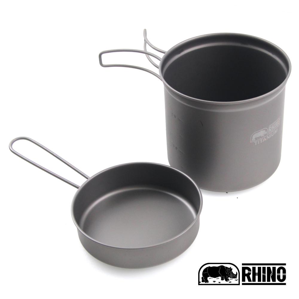 犀牛 RHINO 鈦合金超輕湯壺