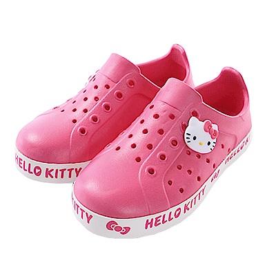 Hello kitty水陸輕便洞洞鞋 sk0591 魔法Baby