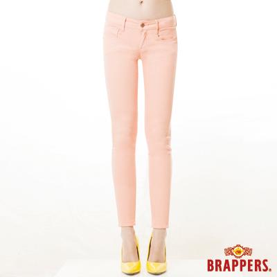 BRAPPERS 女款 LC-Cargo系列-中低腰彈性九分褲-粉紅