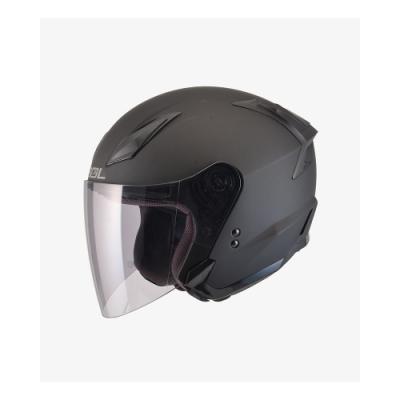 【SOL】SO-2 素色 素消光黑 3/4罩(安全帽│抗UV鏡片│可拆內襯│GOGORO)
