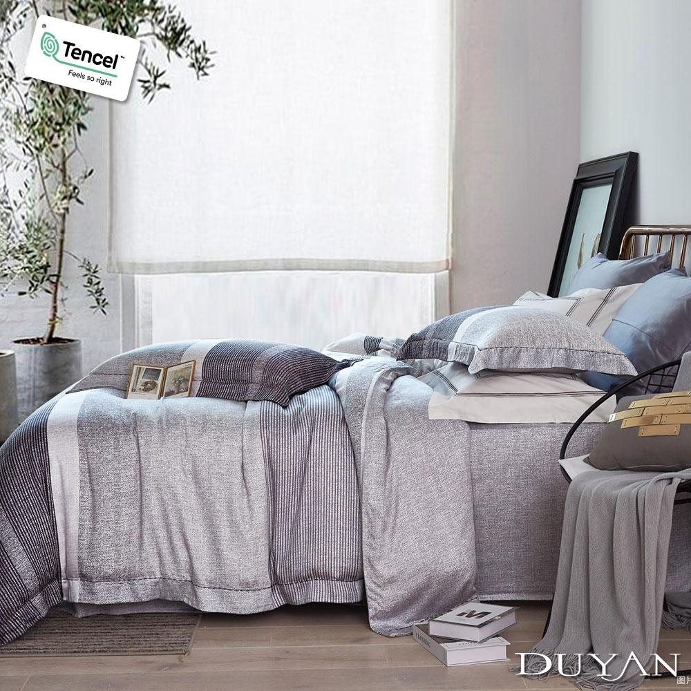 DUYAN竹漾-100%頂級萊塞爾天絲-雙人加大床包被套四件組-唐吉訶德