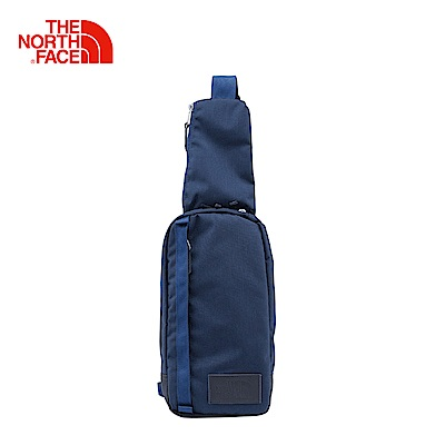 The North Face北面藍色輕巧旅行單肩包 3G8K5XC