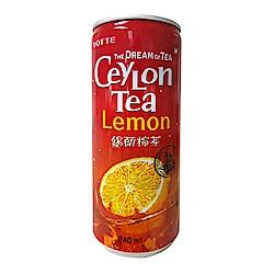 LOTTE韓國樂天 錫蘭檸檬紅茶(240ml)