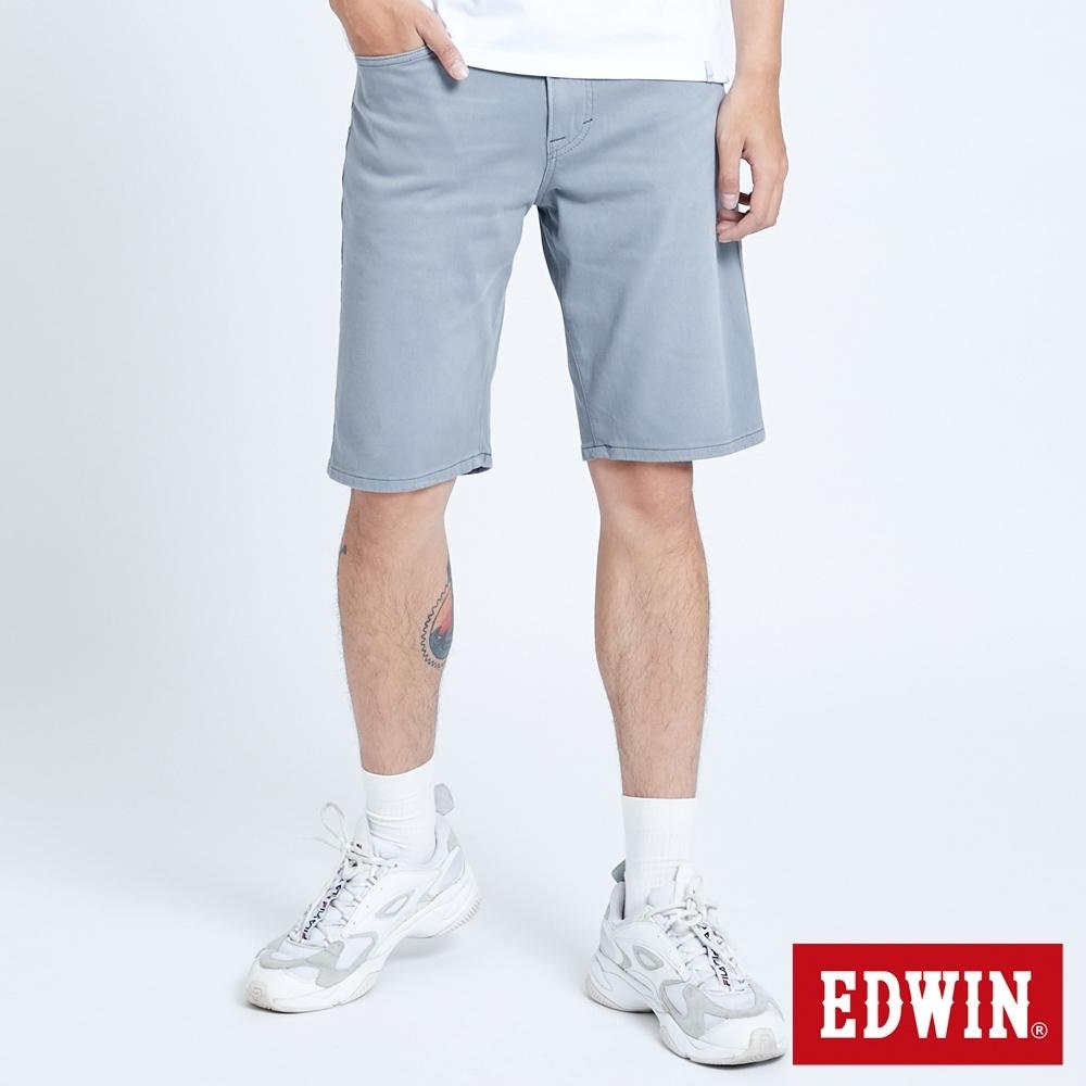 EDWIN JERSEYS 迦績 EJ2 涼感 EFS 休閒短褲-男-灰色