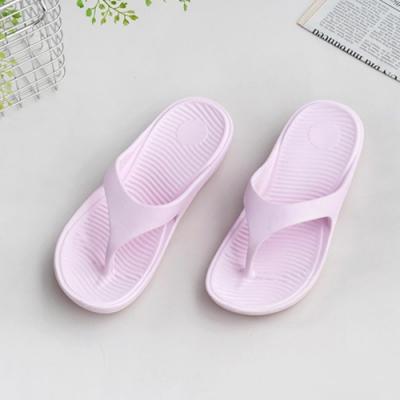 333家居鞋館 輕鬆穿搭夾腳拖鞋-粉色