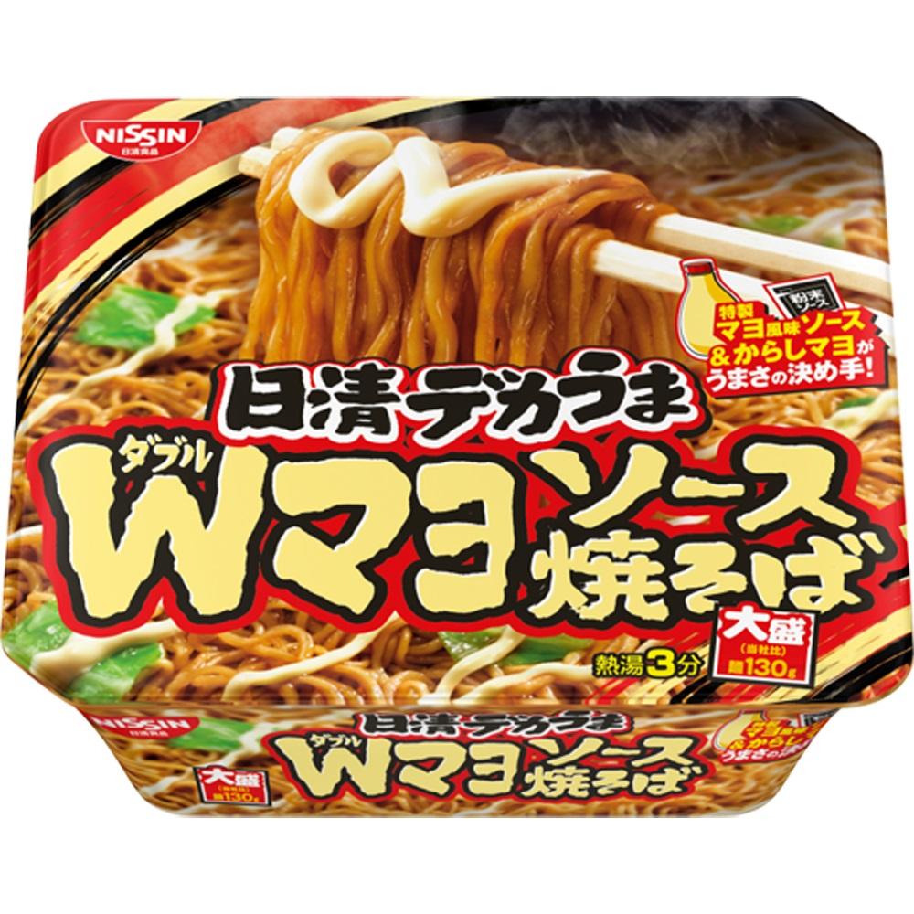 日清 大盛裝日式炒麵-芥末美乃滋味(153g)