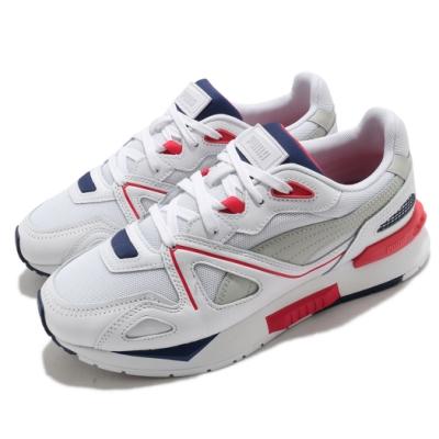 Puma 休閒鞋 Mirage Mox Core 男女鞋 基本款 舒適 簡約 情侶穿搭 球鞋 白 紅 38045901