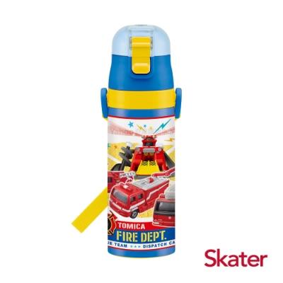 Skater直飲470ml不鏽鋼水壺-TOMICA消防隊