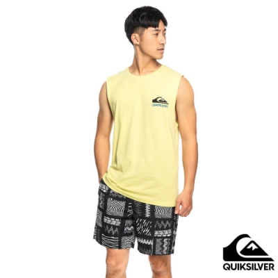 【QUIKSILVER】FANTASY BEACH MUSCLE 背心 黃色