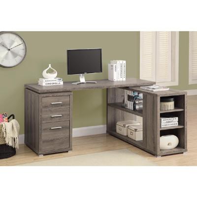 康迪仕複合式書櫃書桌-E1等級