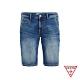 GUESS-男裝-經典水洗刷色五分牛仔短褲-藍 原價2490 product thumbnail 1