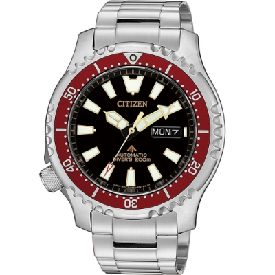 CITIZEN PROMASTER 黑豹特遣隊機械錶(NY0091-83E)