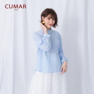 【CUMAR】復古百搭棉質-襯衫(二色/版型適中)